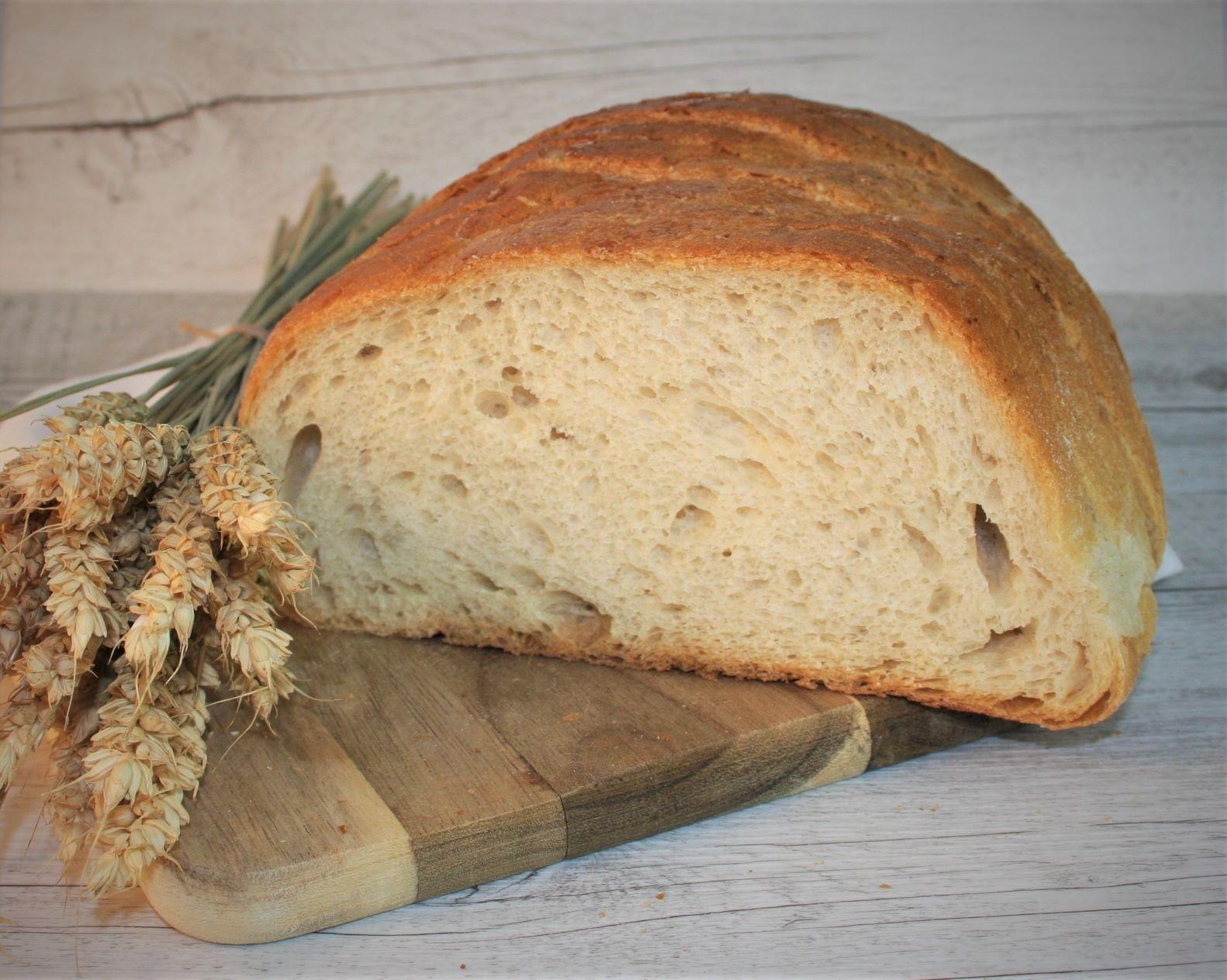 Gazdovský chlieb biely - krájaný