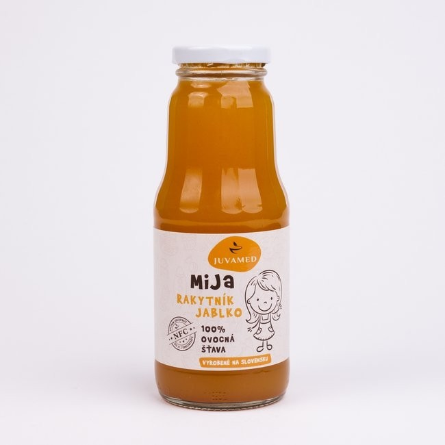 MiJa Rakytník, jablko 100% BIO ovocná šťava