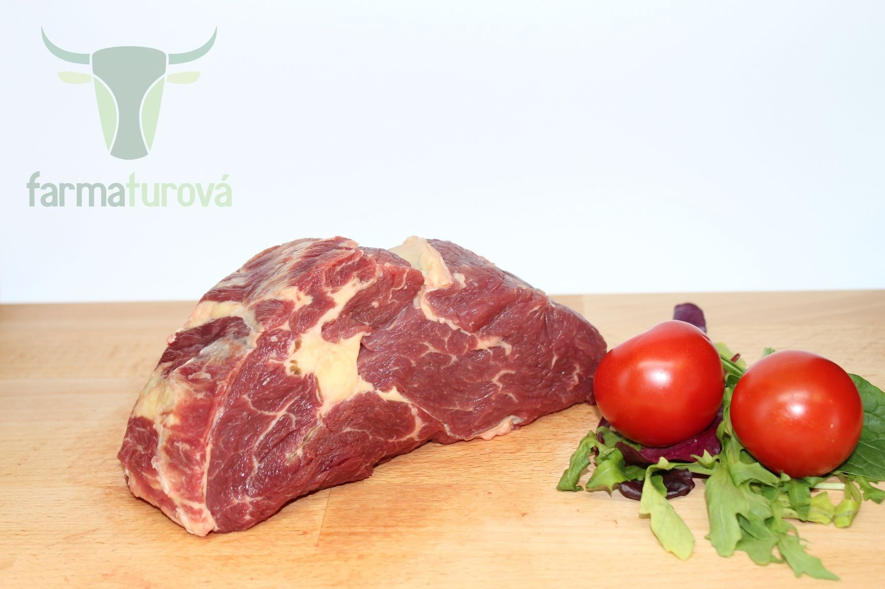 BIO teľací Rib eye steak