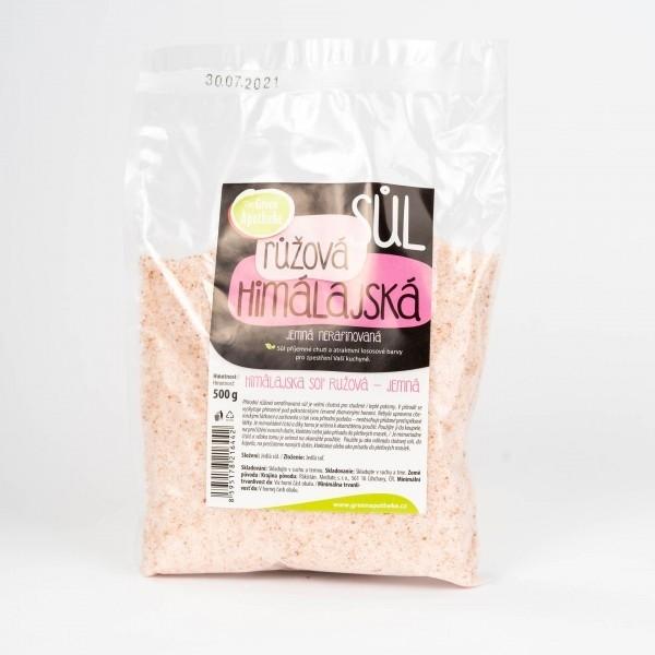 Himalájska soľ ružová jemná