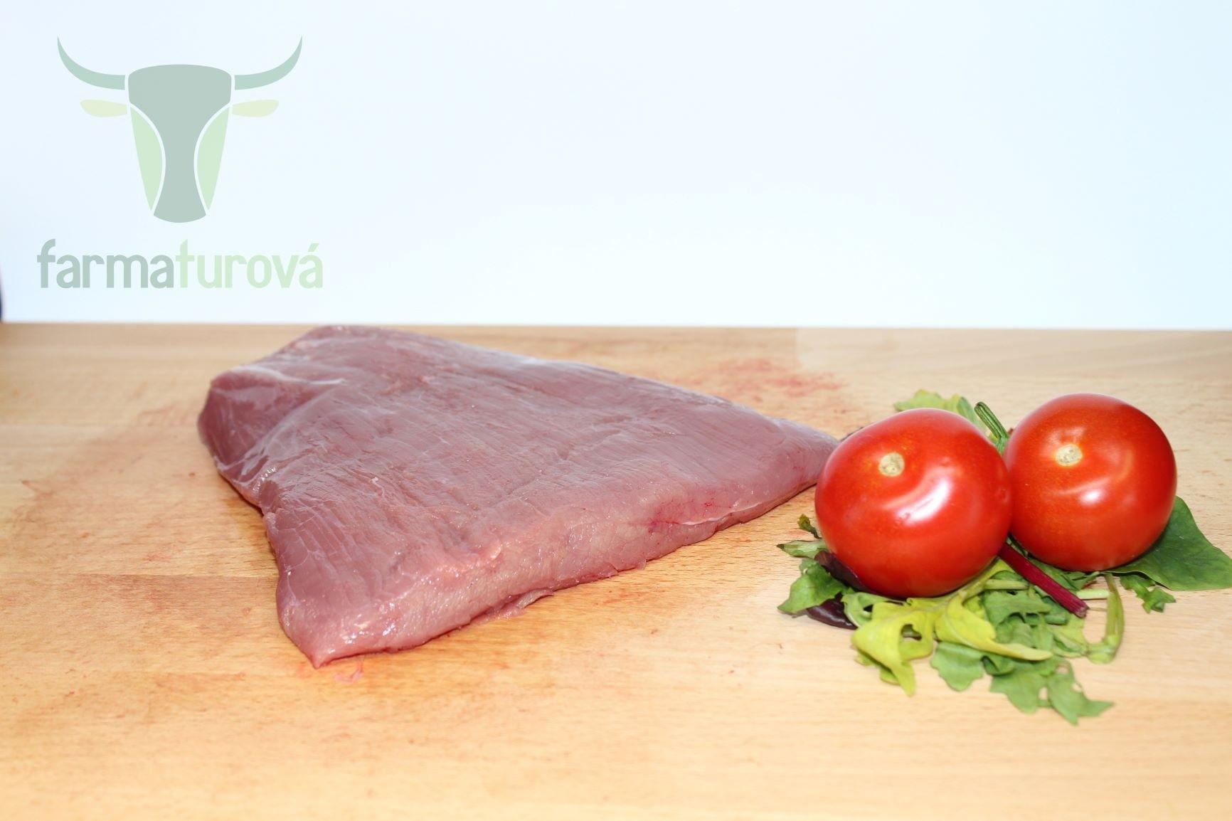 BIO hovädzí Flank steak (teľacie)