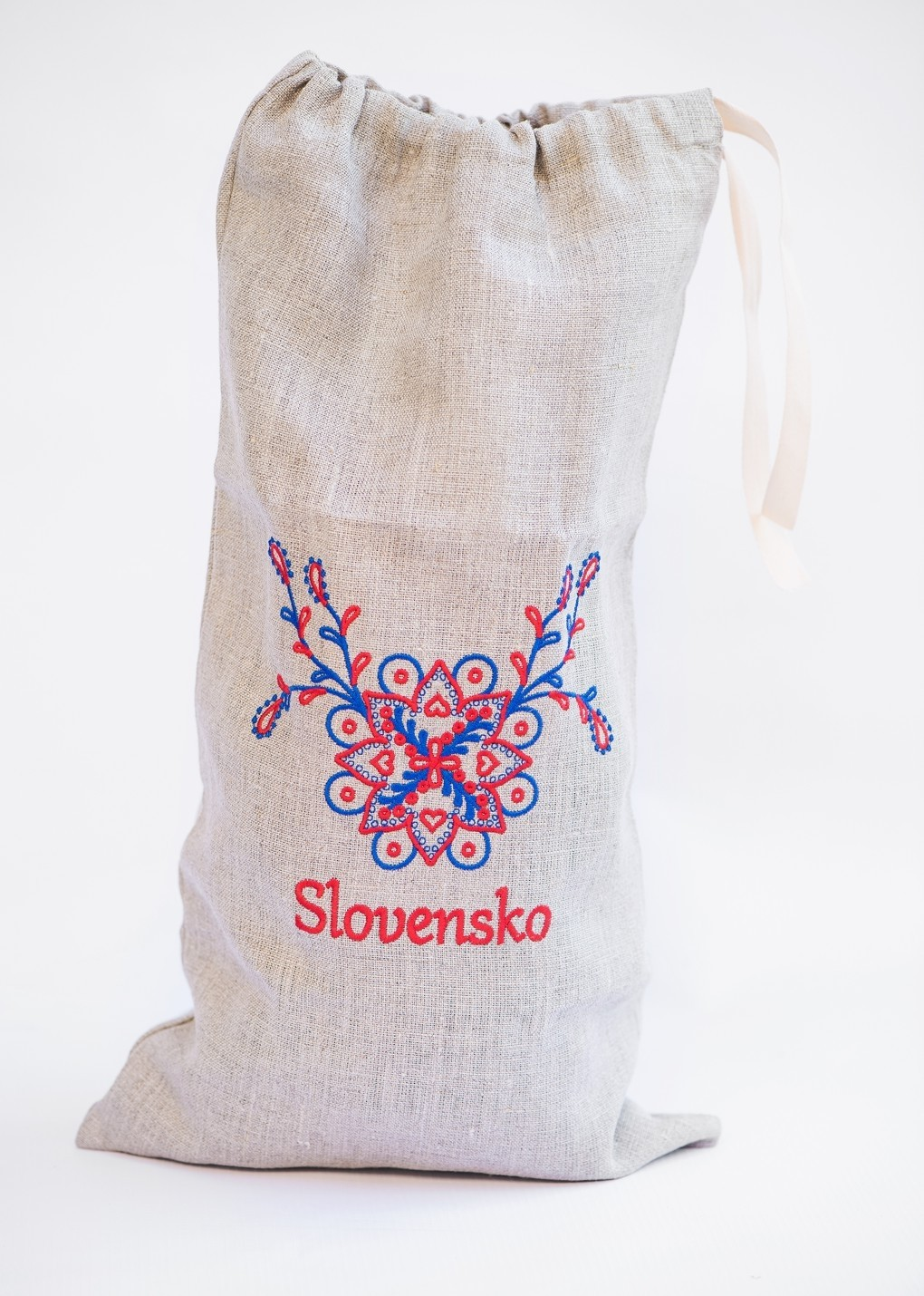 Vrecko na chlieb s motívom Slovensko