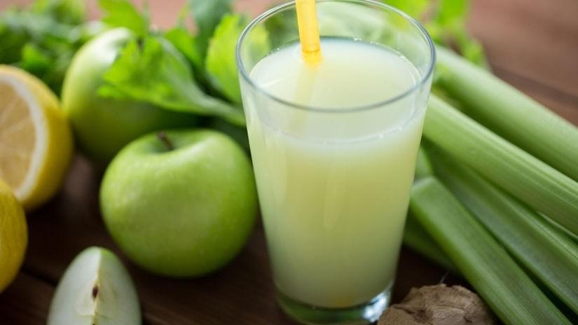 Zelerovo-jablková šťava