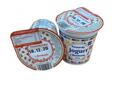 Farmársky jogurt Jahodový