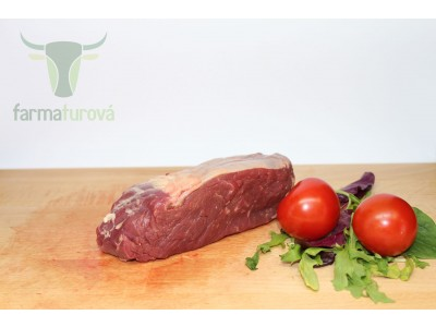 BIO hovädzí Sirloin steak (býk/jalovica)