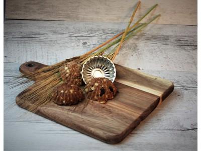 Vega - špaldové koláčiky so semienkami