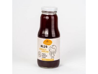 MiJa Čierna ríbezľa, jablko 100% BIO ovocná šťava