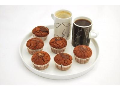 Muffiny špaldové celozrnné s hrozienkami