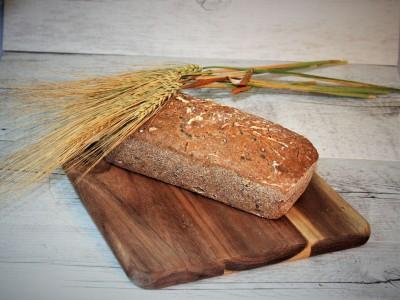 Kváskový pohánkový chlieb