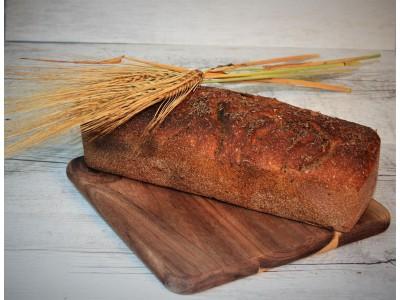 Kváskový ražný 100% celozrnný chlieb