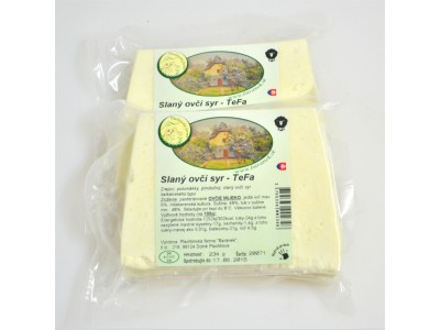 Slaný ovčí syr-fetta